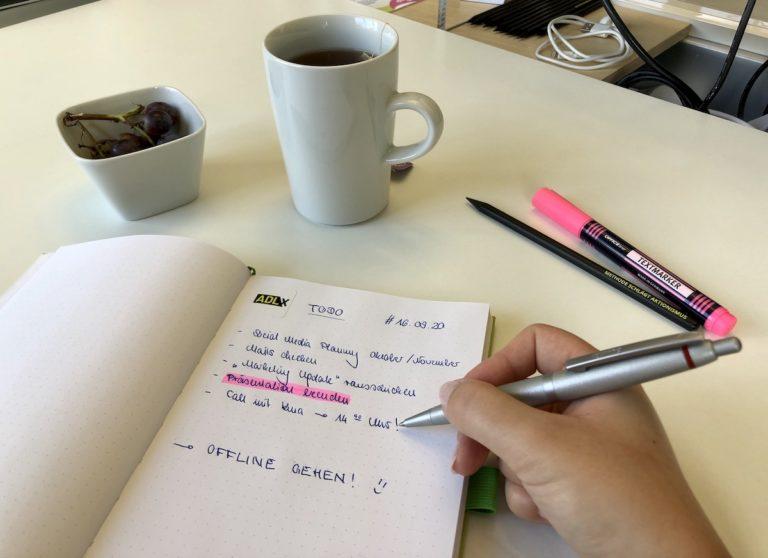 ADLX   Arbeitsweise   Home Office   Projektmanagement   Kunden